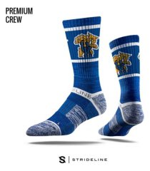 strideline kentucky wildcats comfy calf sub crew socks