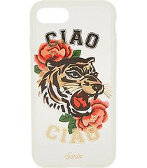 ciao ciao tiger-print iphone 7 case
