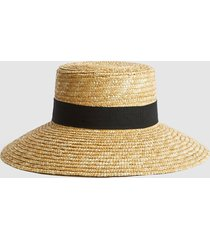 reiss acacia - straw hat in natural, womens