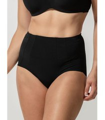 corrigerende slips luna secret sense high waist sheathing briefing zwarte
