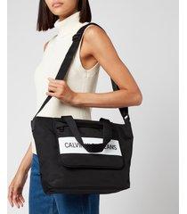 calvin klein jeans women's shopper - black