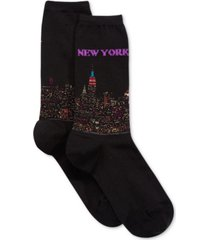 hot sox women's new york fashion crew socks