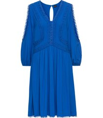 abito in jersey con pizzo (blu) - bodyflirt