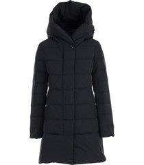 puffy prescott padded jacket w/hood