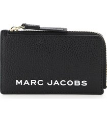 marc jacobs logo print card pouch