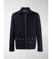 valentino ring-embellished work jacket