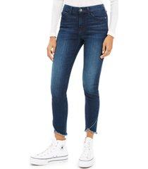 jen7 by 7 for all mankind frayed-hem jeans