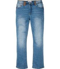 jeans elasticizzati slim fit bootcut (blu) - john baner jeanswear