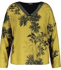 samoon blouse 371037 / 26517 green - size 46 / extra 1