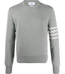 milano stitch crew neck pullover