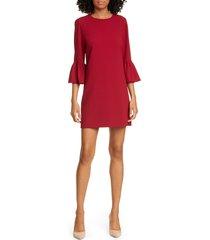 women's alice + olivia coley ruffle sleeve a-line dress