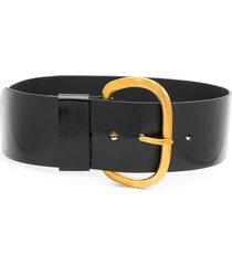rachel comey chunky textured belt - black