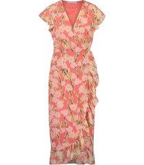 freebird jurk rosy pink midi gladiol