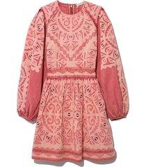 omaira dress in sunbleached rose