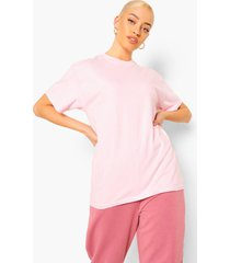 babygirl' t-shirt met rugopdruk, pink