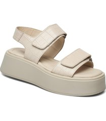 courtney shoes summer shoes flat sandals beige vagabond