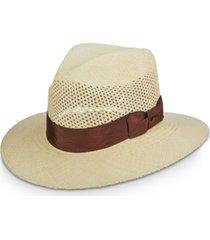 dorfman pacific men's vented panama safari hat