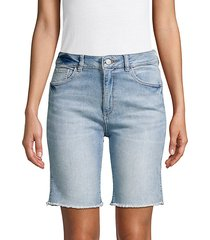 jerry denim bermuda shorts