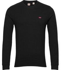 ls original hm tee mineral bla t-shirts long-sleeved svart levi´s men
