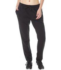 pantalon buzo pitillo negro corona