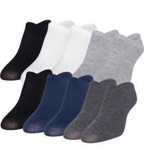 gold toe women's triple-y liner 10pk socks