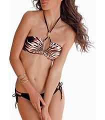 bikini lisca afrika 2-delige bandeau bikiniset