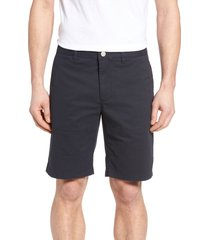 men's bonobos stretch washed chino 9-inch shorts, size 36 - blue