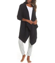 women's ugg phoebe wrap cardigan, size x-small - black