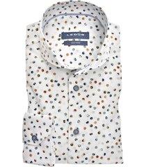ledûb overhemd multicolor modern fit 0139832/916000