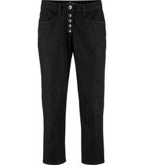 pantalone 3/4 in poliestere riciclato sostenibile (nero) - bpc bonprix collection