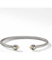 david yurman renaissance bracelet with 18k gold, size small in gold dome at nordstrom