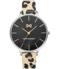 reloj animal print mark maddox