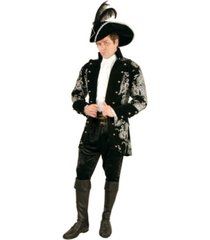 buyseasons men's' long john silver jacket adult costume