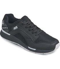 zapatos jogger aeroflex negro md8708
