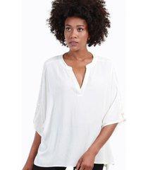 blusa con lentejuelas alicia blanco night concept