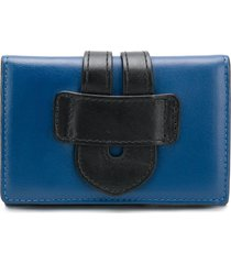 tila march two-tone wallet - blue