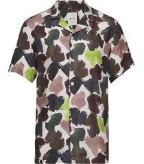 brandon shirt kortärmad skjorta multi/mönstrad wood wood
