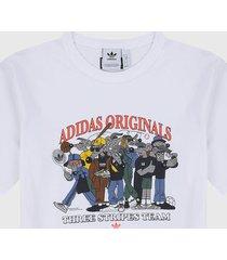 camiseta blanco-multicolor adidas originals r.y.v reunión