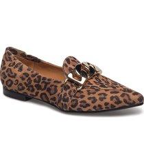 shoes 6508 loafers låga skor brun billi bi