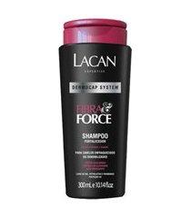 lacan fibra & force shampoo fortalecedor 300ml
