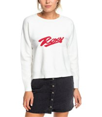 roxy juniors' logo sweater