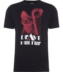 t-shirt masculina just x3 - preto