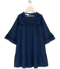 vestido azul anavana jonquille