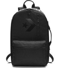 mochila negra converse street 22 backpack