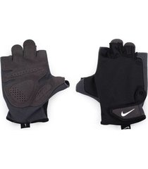 guantes nike essential fitness - negro