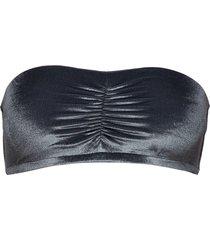 velvet bandeau top bikinitop svart filippa k soft sport