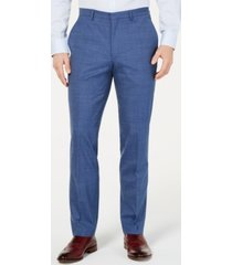 cole haan men's slim-fit pin-dot pants
