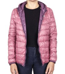 parka down jacket reversible rosa local crew