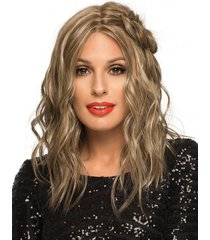 chelsea wig by envy, *all colors* envyhairblend, 100% hand-tied + lace front new