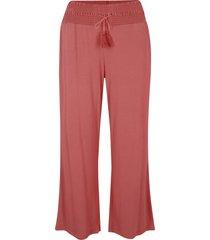 pantaloni di jersey in lenzing™ ecovero™ (rosso) - bpc bonprix collection